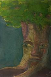 Tree Spirit by JessicaSoulier