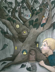 Little Tree House by JessicaSoulier