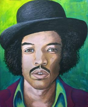Hendrix portrait 2