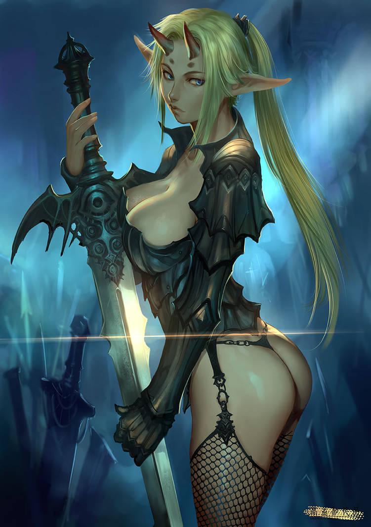 Dark Elf By Ariverkao On Deviantart