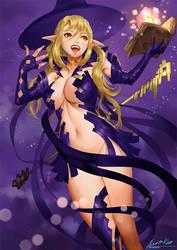 Witch by ariverkao