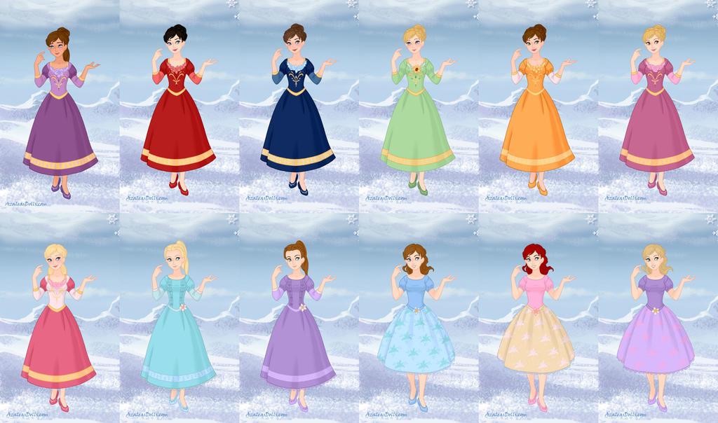 Barbie in the 12 dancing princesses by aearwen95 on deviantart - Barbie 12 princesse ...