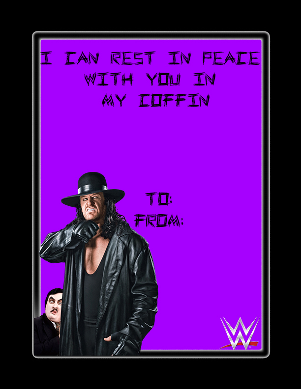 Undertaker Valentines Day Card by snakekiller9119 on DeviantArt