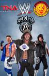 WWE TNA NJPW AJ Styles Poster