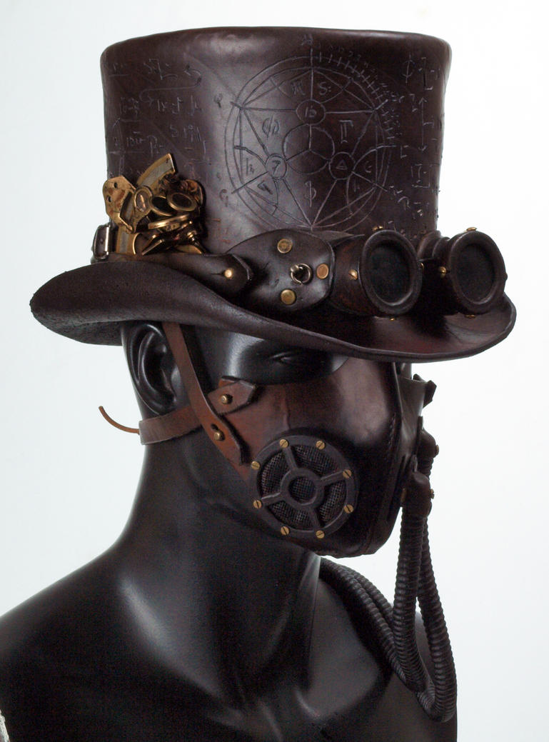 Populaire Steampunk Leather Tophat by Valimaa on DeviantArt IP85