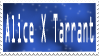 Alice X Tarrant Stamp by IShipThings