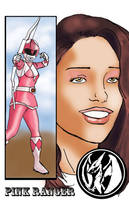 Pink Ranger Kimberly by TheFireAngel