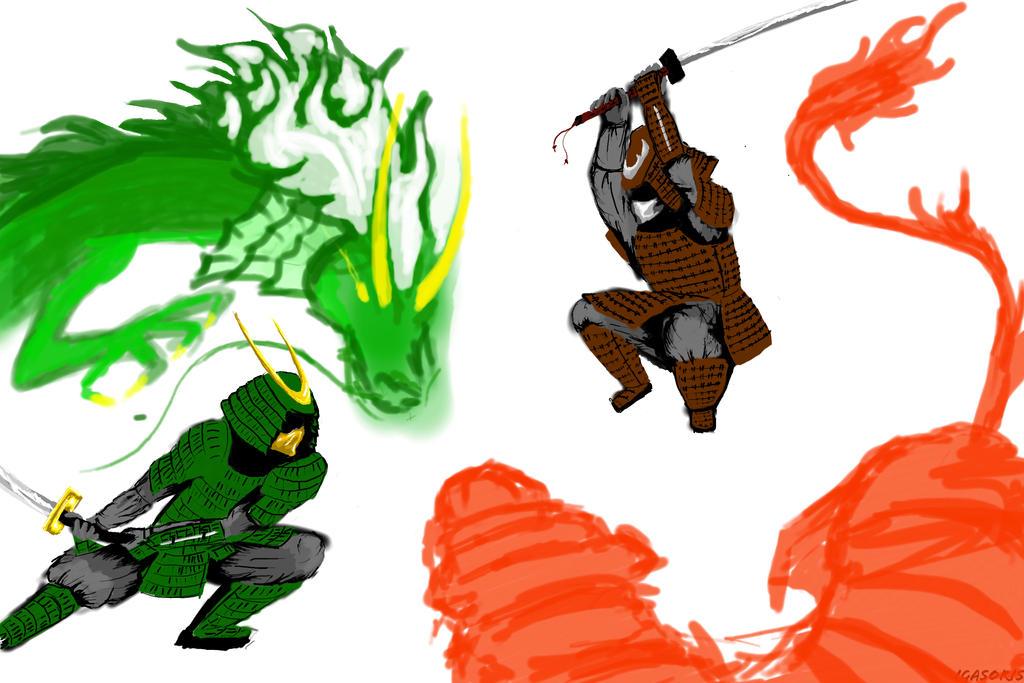 Clash (millennium battle) by igasoris