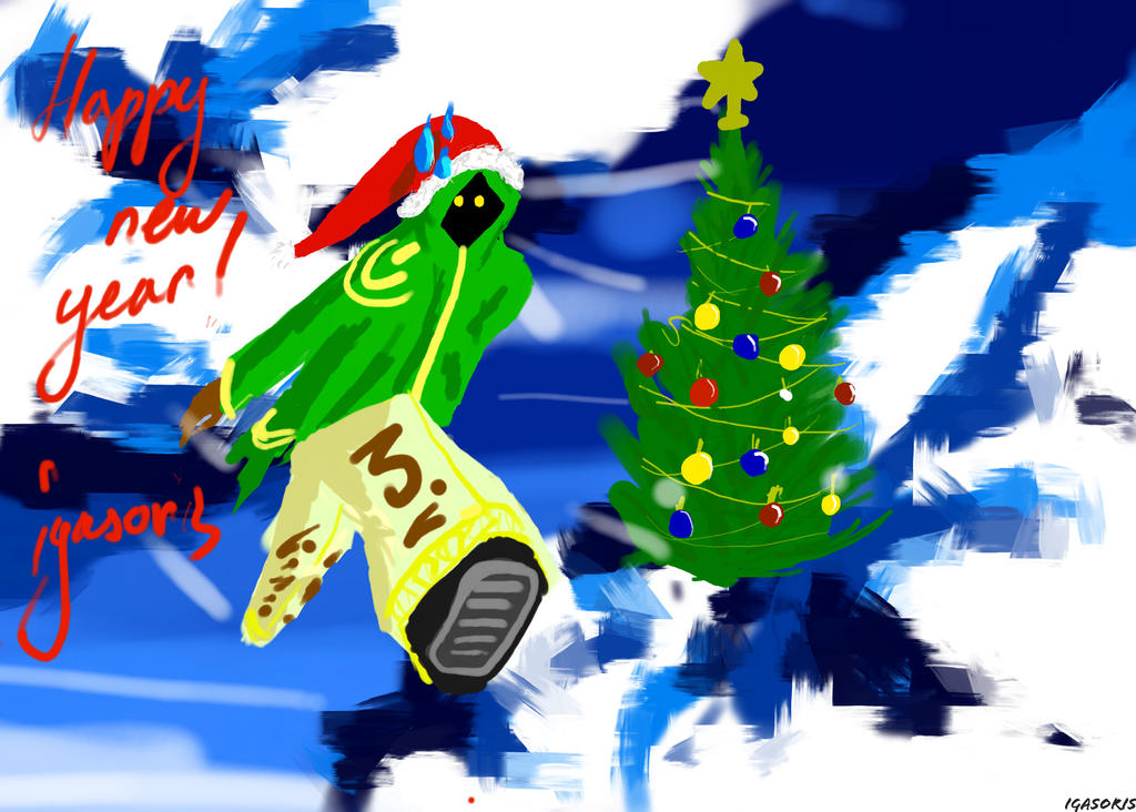 Happy new year!!! by igasoris