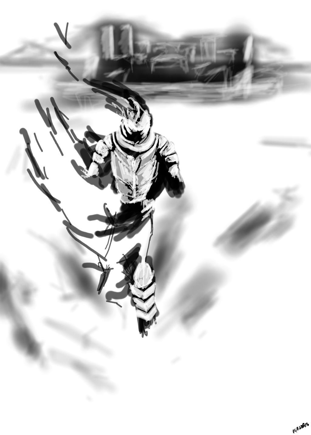 The Phantom Guardian by igasoris