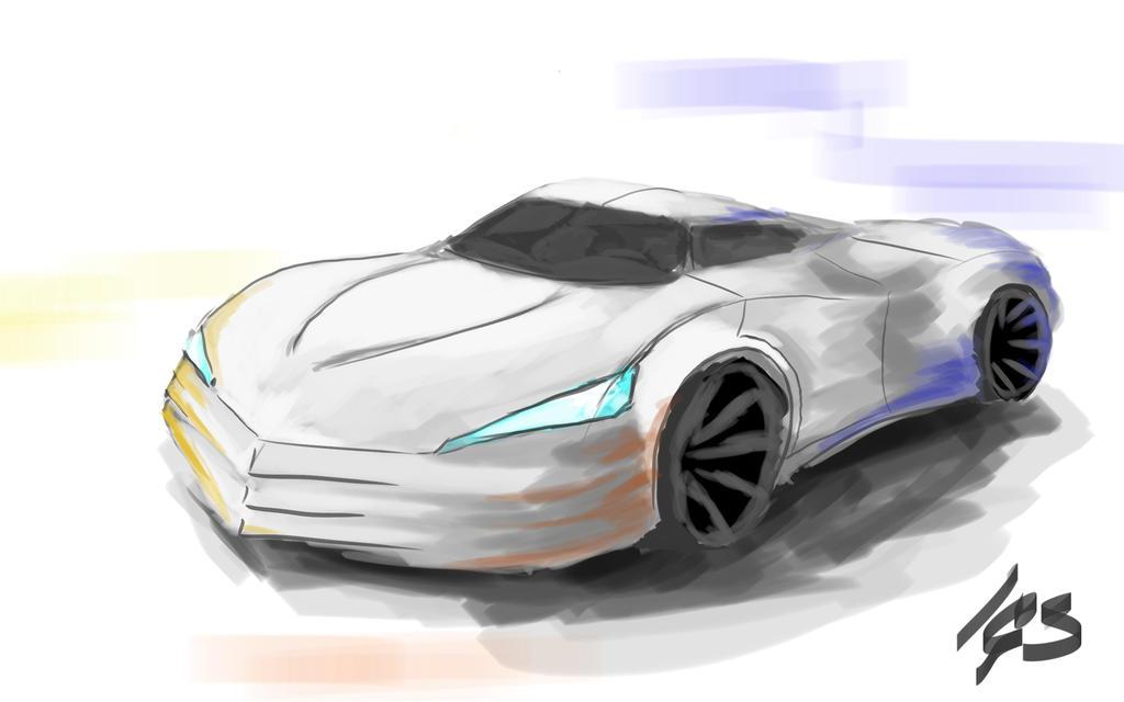 Speedpaint test: car concept by igasoris