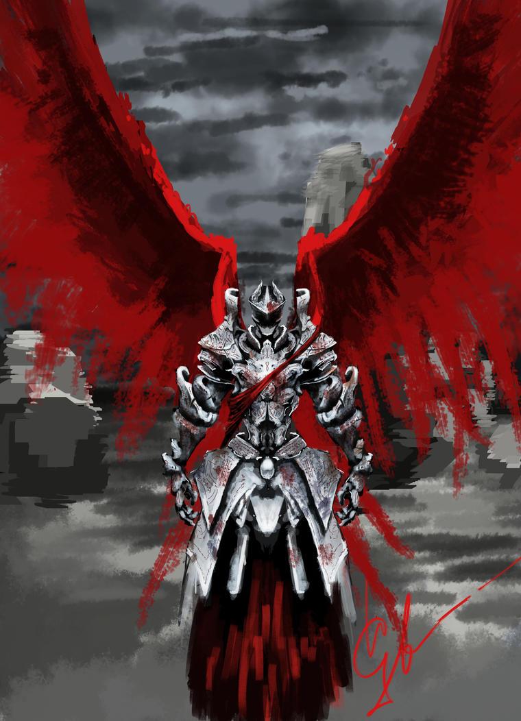 Bloody Angel by igasoris