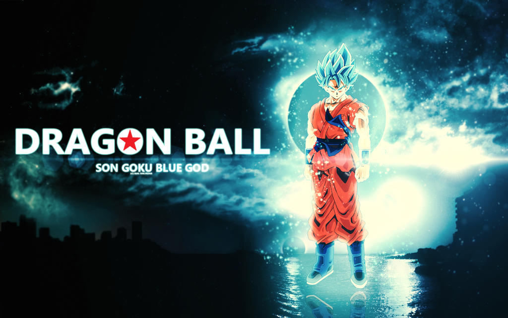 Dragon Ball Goku Super Saiyan God Blue Wallpaper B By Isaldalvizar On Deviantart
