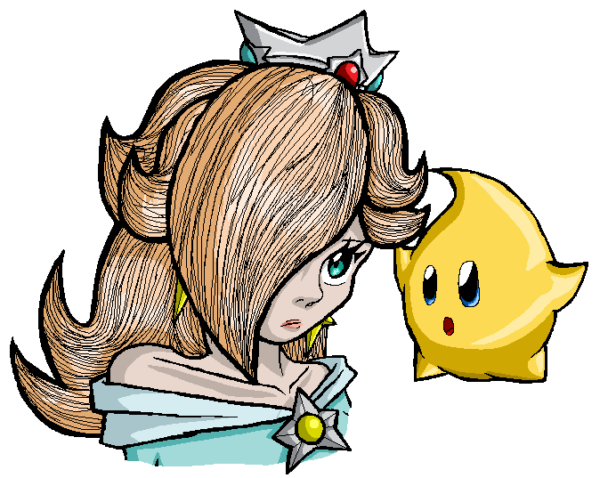 Smash Games  - Page 3 Rosalina_and_little_star_by_tehcreechibi