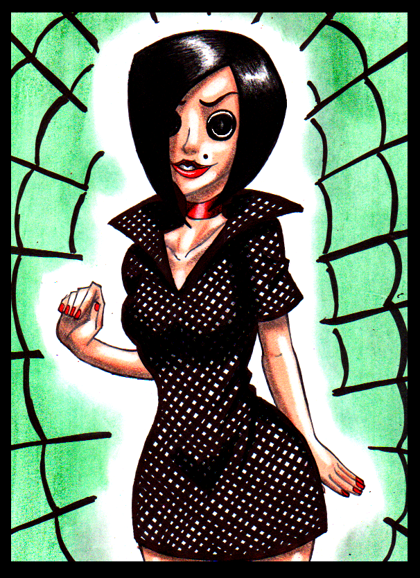 Coraline Other Mother Drawing