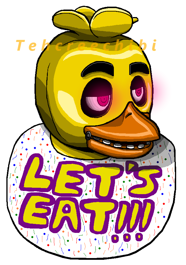 Fnaf Chica Doodle by tehcreechibi