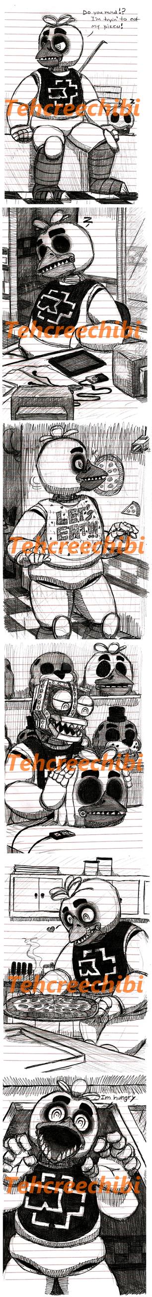 Chica Sketch Dump by tehcreechibi