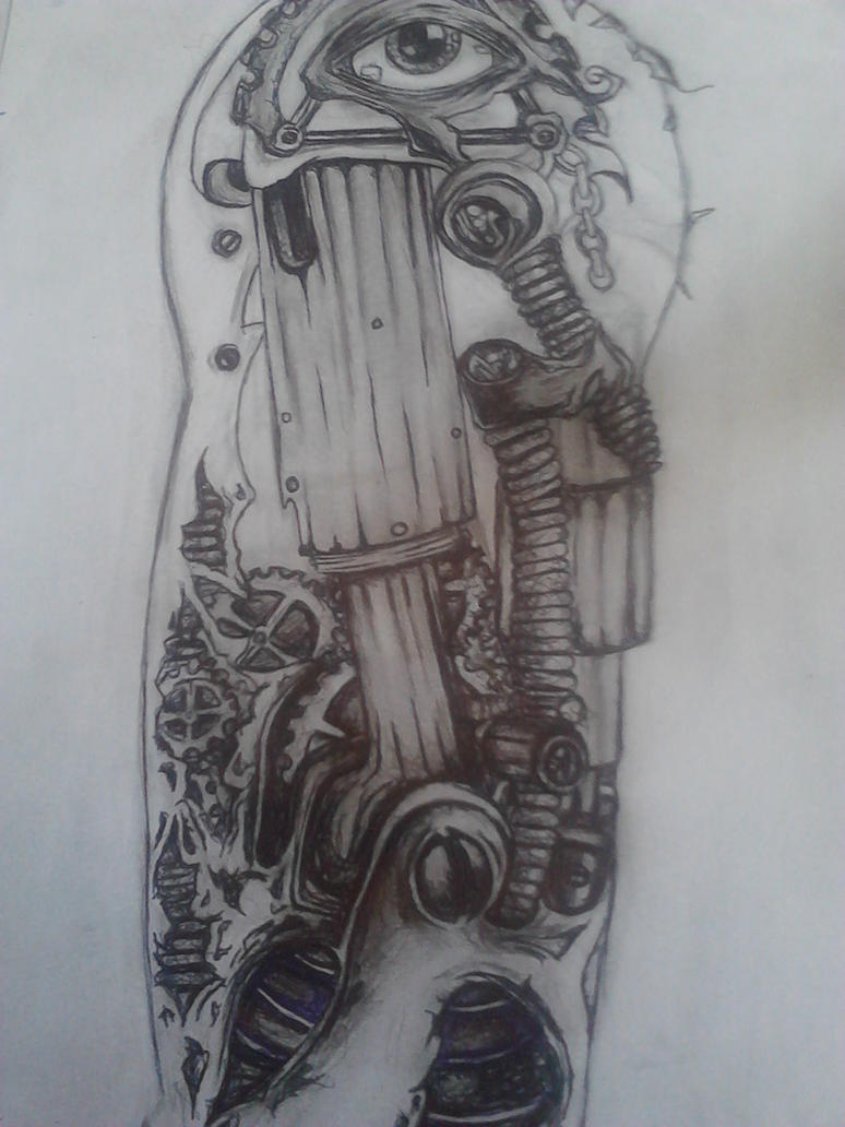 Zombie arm tattoo sketch by lostinmyowndream on deviantart for Forearm tattoo sketches
