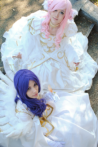 Cornelia and Euphemia - clamp illustration by KuraitheDollfie