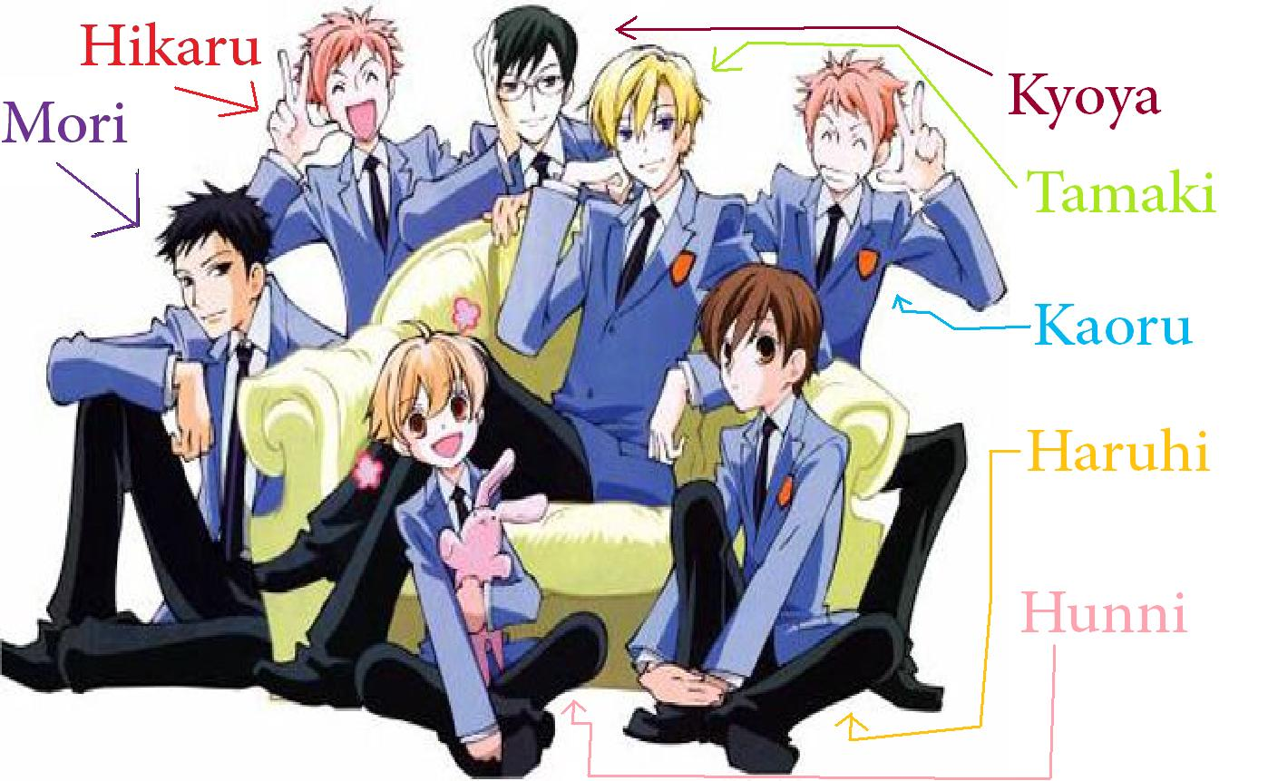 Ouran High School Host Club Share