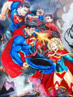 Super team fight by HeroArtist20