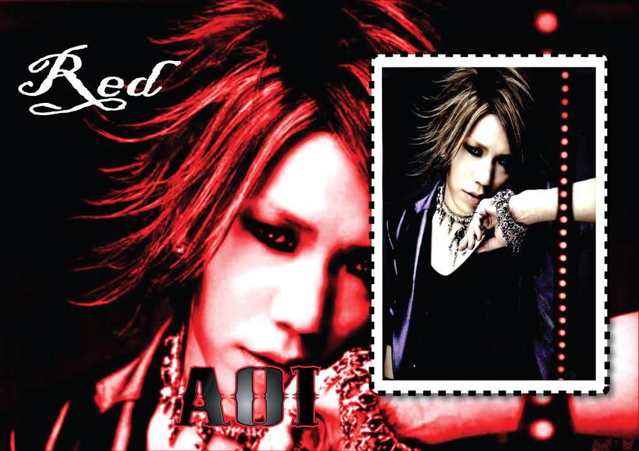 Aoi-RED-Wallpaper by Zetsunine