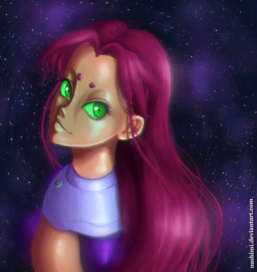 starfire by nashimi