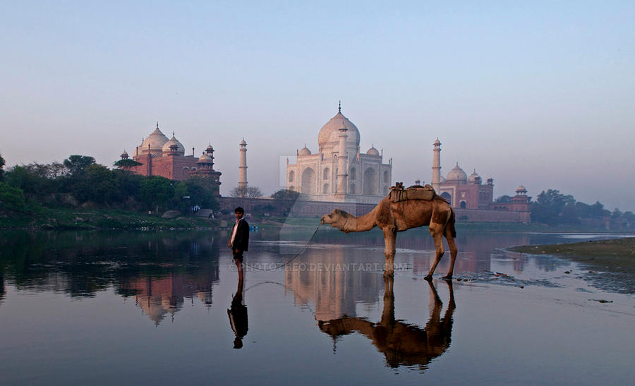 Taj Mahal by phototheo