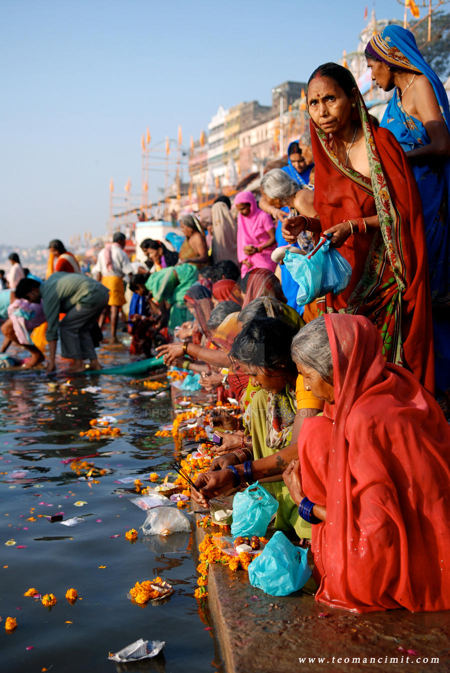 Varanasi,Ganges River,india by phototheo