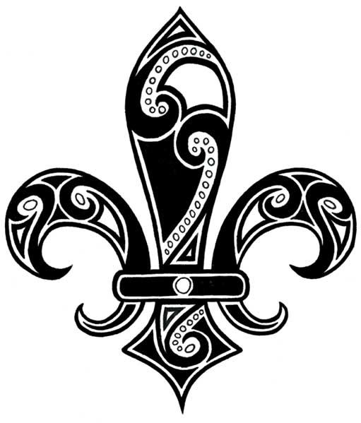 Fleur de Lis Tattoo by =ladyserenity2002 on deviantART