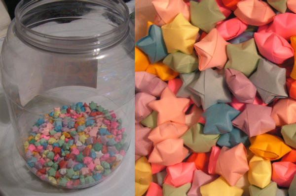 91 Origami Lucky Star In A Jar On Luullrhluullcom S Origami Lucky