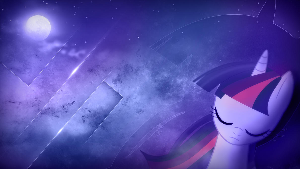 Wallpaper - Twilight, listen the night sky by romus91
