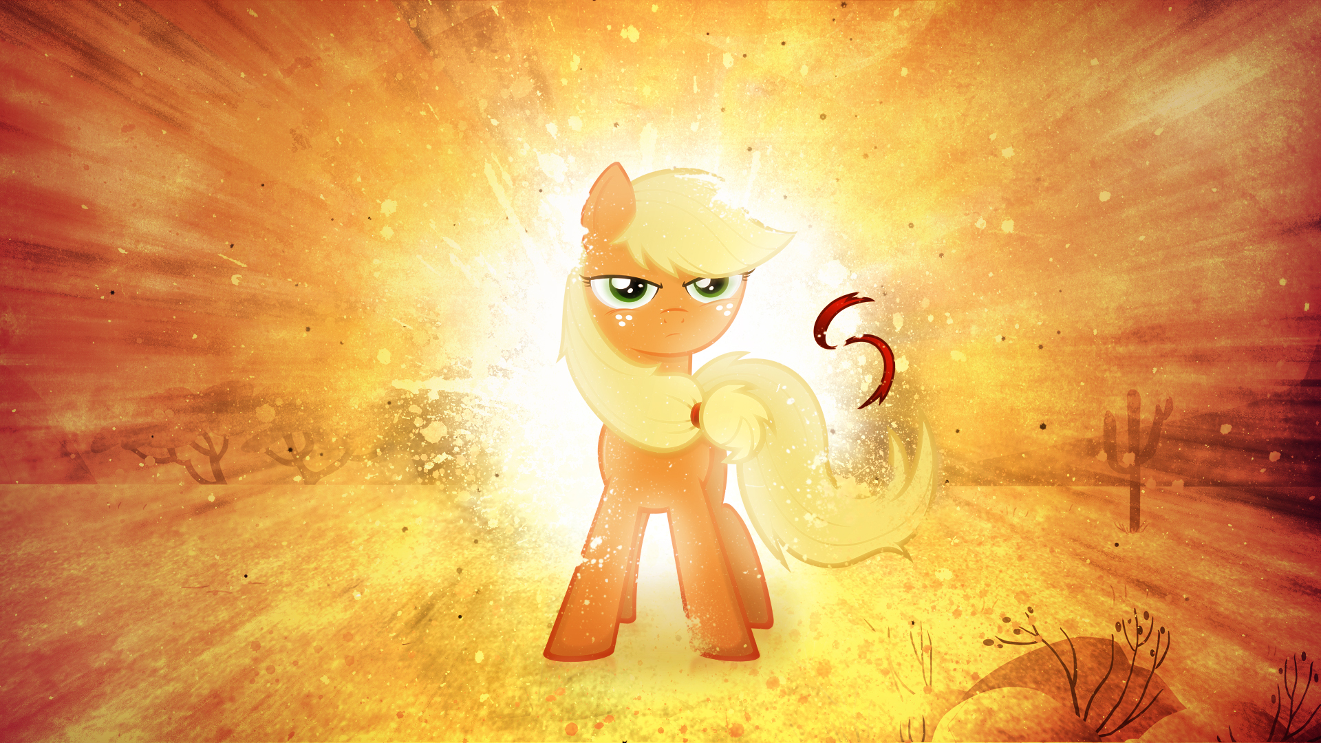 WOTW #4: Applejack - You can't beat me by romus91