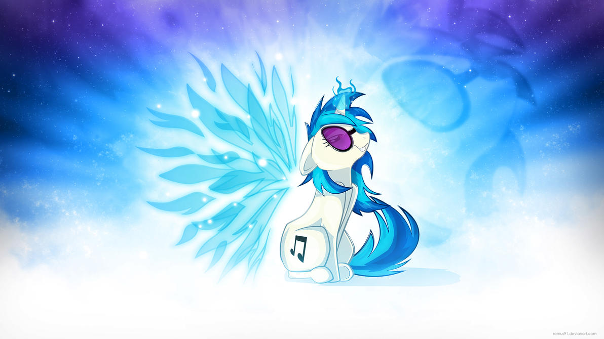 Wallpaper - Vinyl Scratch's wings by romus91