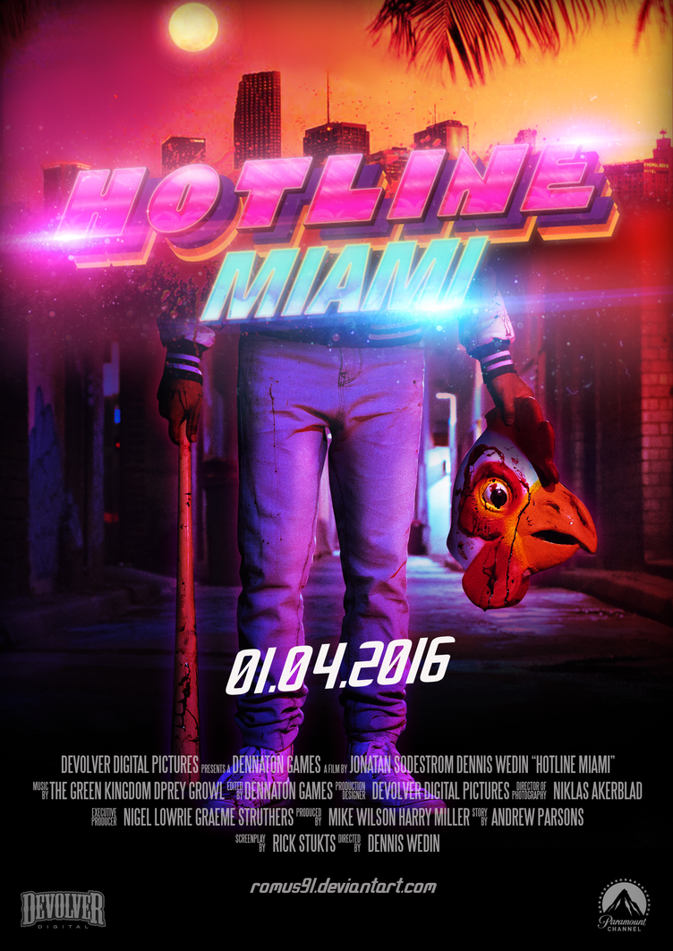 Poster - Hotline Miami by romus91