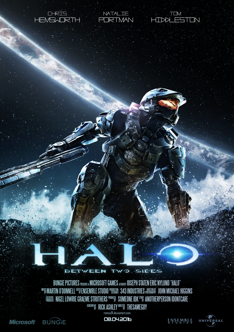 Poster - Halo by romus91