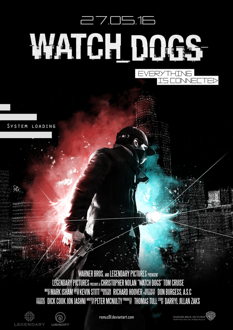 Poster - Watch_Dogs by romus91