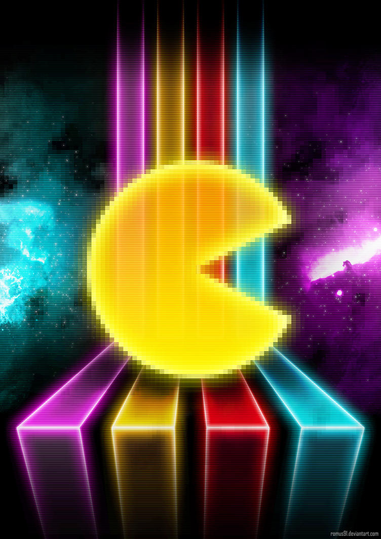 poster pacman by romus91 on deviantart