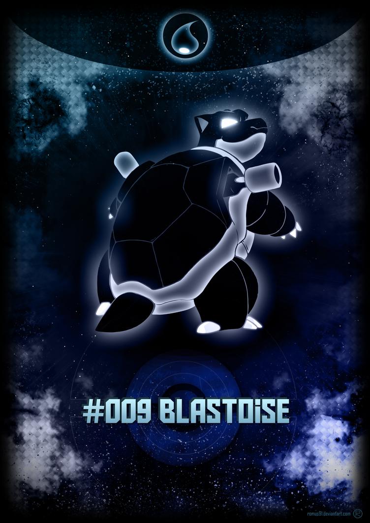 Poster - #009 Blastoise by romus91
