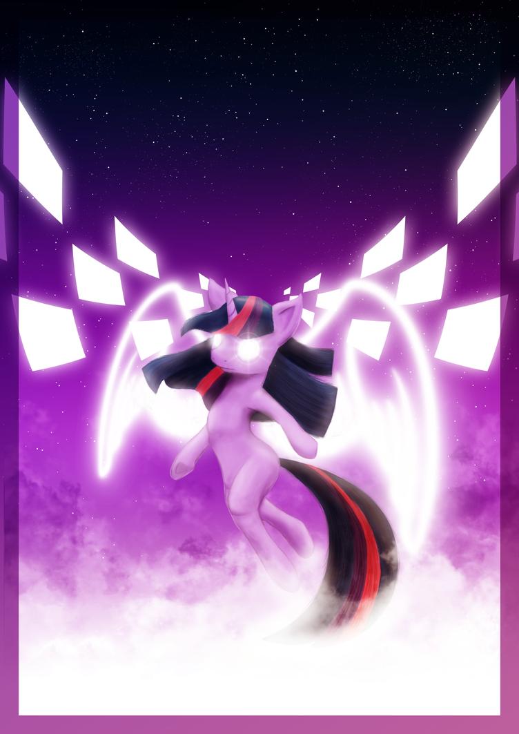 Poster - Flying Twilight by romus91