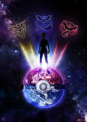 Poster - Pokemon GO by romus91
