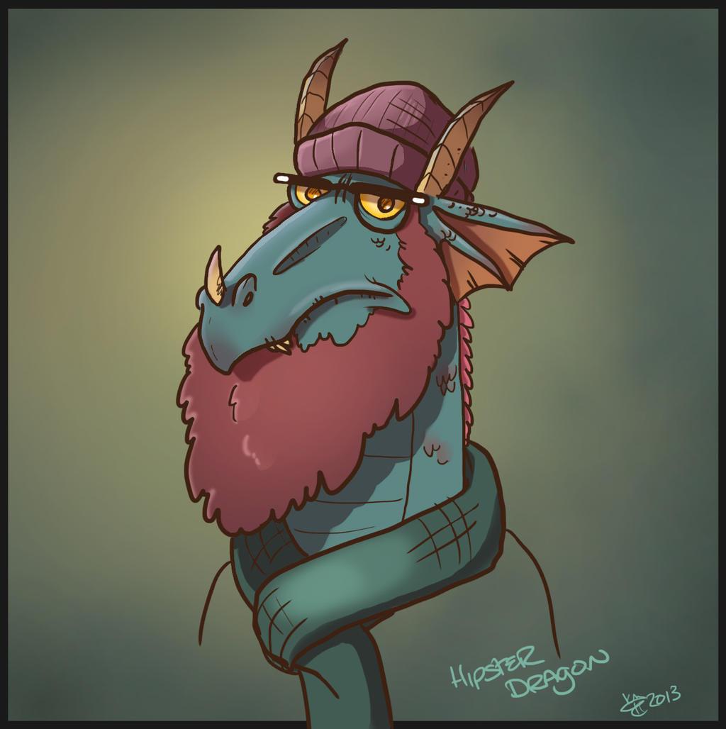 Dragon With Beard Dragon Beard by kiznat...