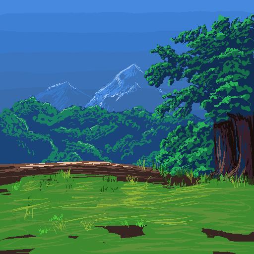Random Pixel Landscape By Chaosdragon11590 On DeviantArt
