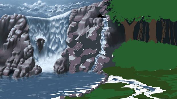 Waterfall Retreat -WIP3-