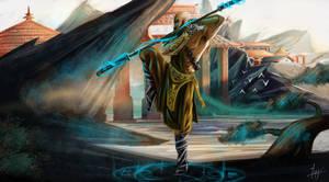 Shaolin Monk by ispydesign