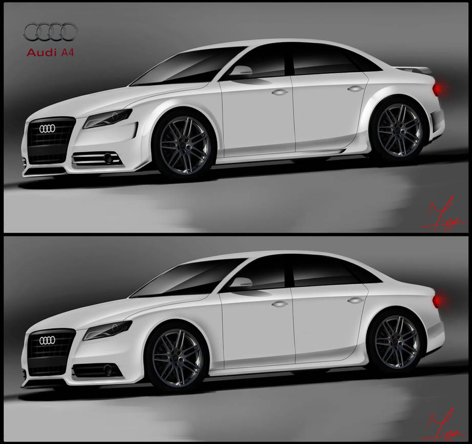 Cudowna Audi A4 tuning by ispydesign on DeviantArt PT36