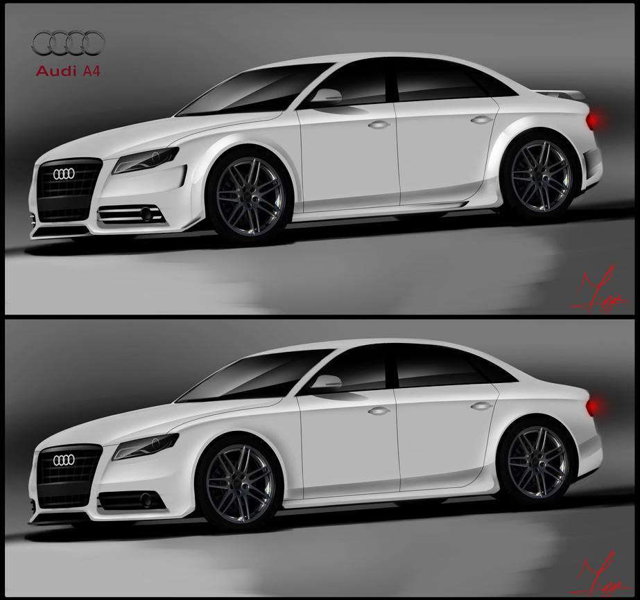Audi A4: Audi A4 Tuning By Ispydesign On DeviantArt