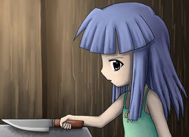 I'm Borrowing Your Knife For Cooking by Eevora