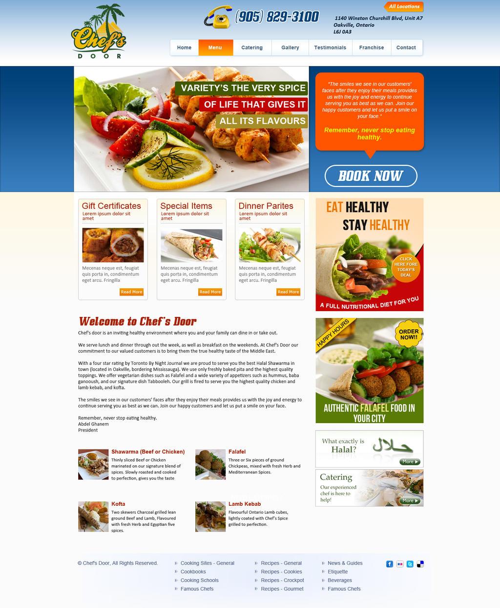 Chefu0027s Door Web Design by wetkon Chefu0027s Door Web Design by wetkon  sc 1 st  wetkon - DeviantArt & Chefu0027s Door Web Design by wetkon on DeviantArt pezcame.com
