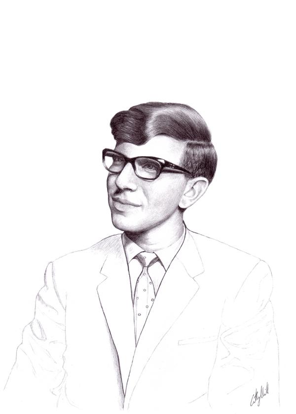 Stephen Hawking by Syntheta-NZ